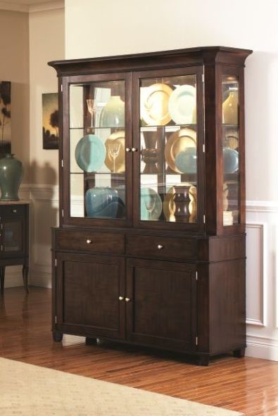 Steve Silver Marseille Buffet and Hutch SSF-MS800-BUF-S1