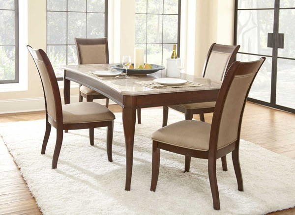 Steve Silver Marseille 5pc Dining Room Set SSF-MS850-DR-S2