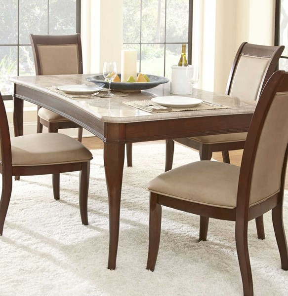 Steve Silver Marseille Merlot Cherry Dining Table SSF-MS850WT