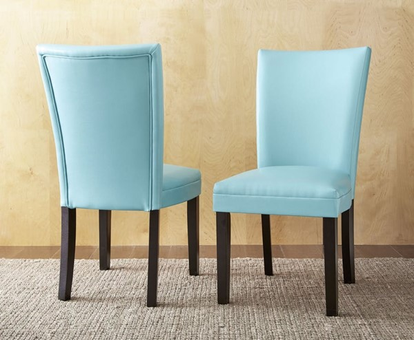 Steve Silver Matinee PU Side Chairs SSF-MT500S-DR-CH-VAR