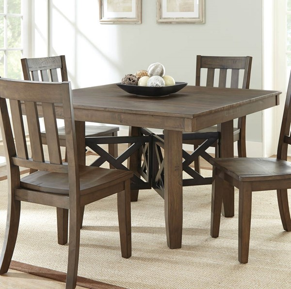 Steve Silver Mayla Latte Solid Hardwood Dining Table SSF-MY500T
