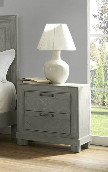 Steve Silver Montana Gray Night Stand SSF-RE137-151G