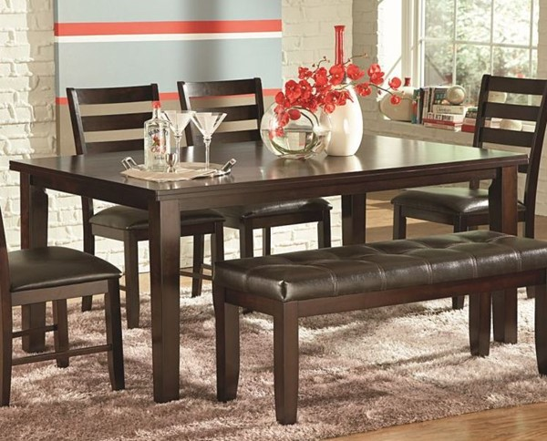 Steve Silver Sao Paulo Wood Dining Table SSF-SU700T