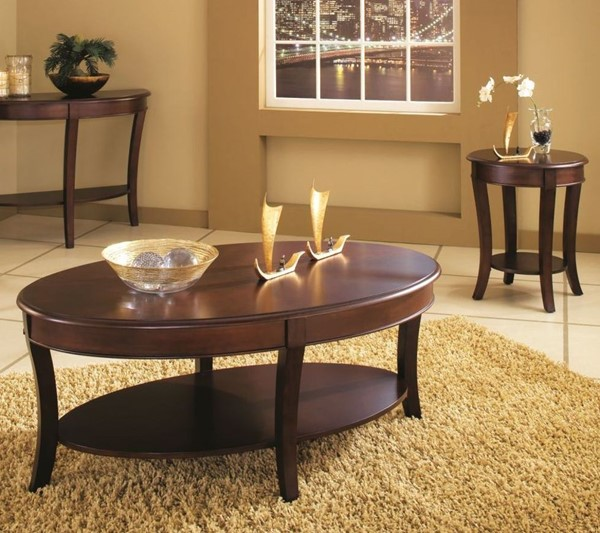 Steve Silver Troy 3pc Coffee Table Set SSF-TY100-OCT-S1