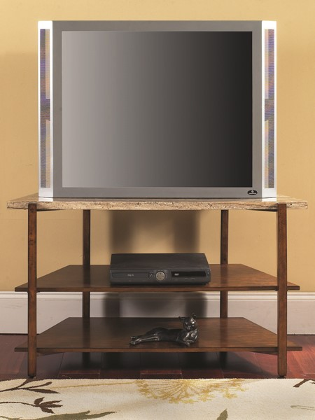 Steve Silver Tivoli Faux Marble Top TV Stand SSF-TV500TV