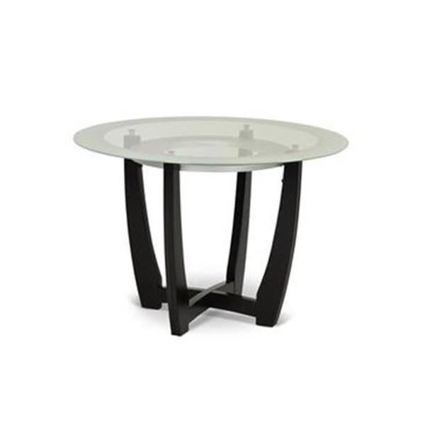 Steve Silver Verano Black Wood Dining Table SSF-VR450TB