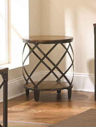 Steve Silver Winston Round End Table SSF-WN450E