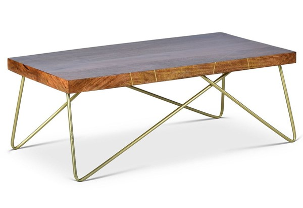 Steve Silver Walter Brass Inlay Cocktail Table SSF-WT300C