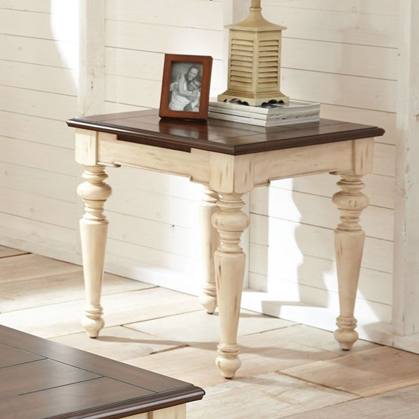 Steve Silver Wesley Square End Table SSF-WY300E