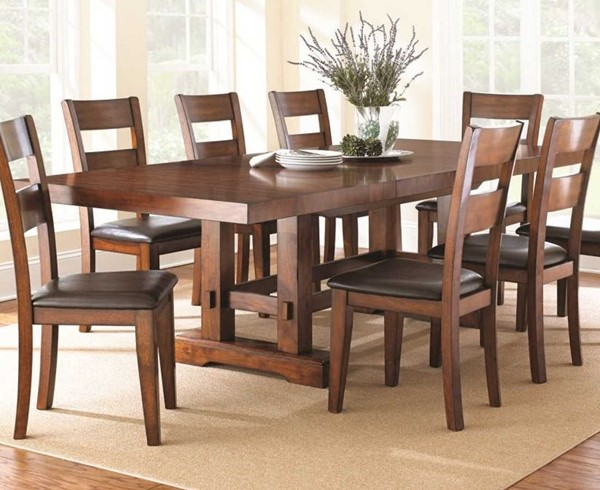 Steve Silver Zappa Cherry Solid Hardwood Dining Table SSF-ZP700T