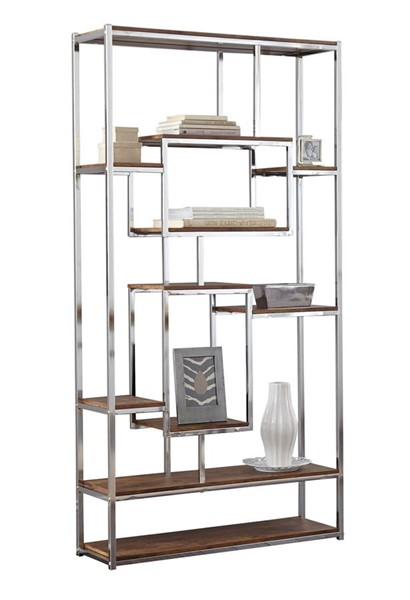 Steve Silver Alize Natural Wood Bookcase SSF-AZ250B