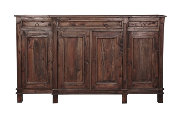 Sunset Trading Shabby Chic Cottage Raftwood Sideboard SST-CC-CAB1113S-RW