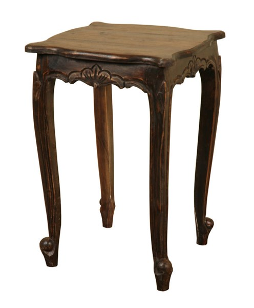 Sunset Trading Shabby Chic Cottage Vintage Iron Accent Table SST-CC-TAB065S-VI