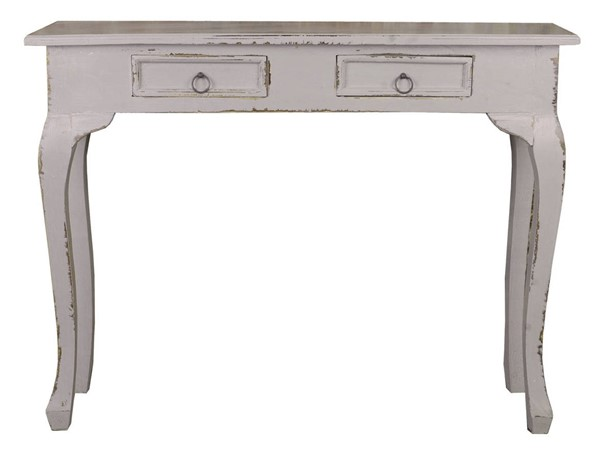 Sunset Trading Shabby Chic Cottage Antique Gray Sofa Table SST-CC-TAB2276LD-AG