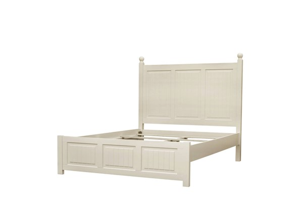 Sunset Trading Ice Cream At The Beach Antique White Queen Bed SST-CF-1701-0111-QB