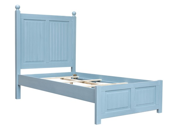Sunset Trading Cool Breeze Beach Blue Twin Bed SST-CF-1703-0156-TB