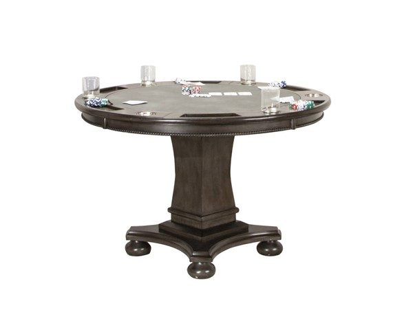 Sunset Trading Vegas Gray Dining and Poker Table SST-CR-87711-TB