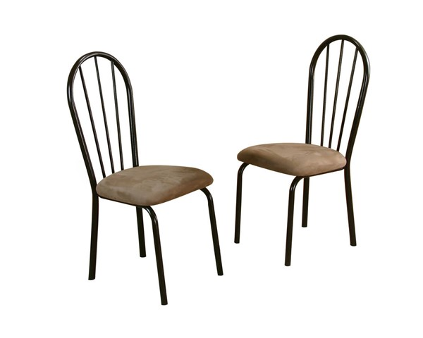 2 Sunset Trading Brown Beige Dining Chairs SST-CR-D8009-01-2