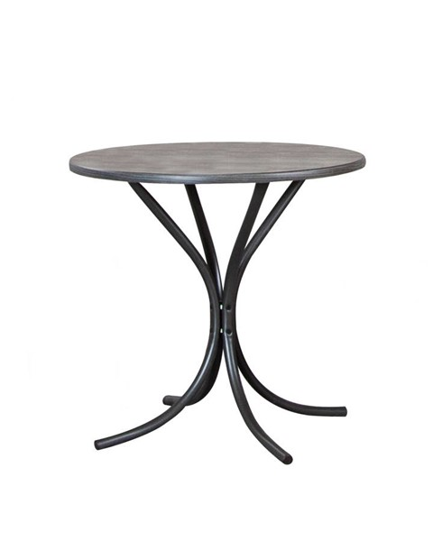 Sunset Trading Grey Steel Dining Table SST-CR-D8719-59