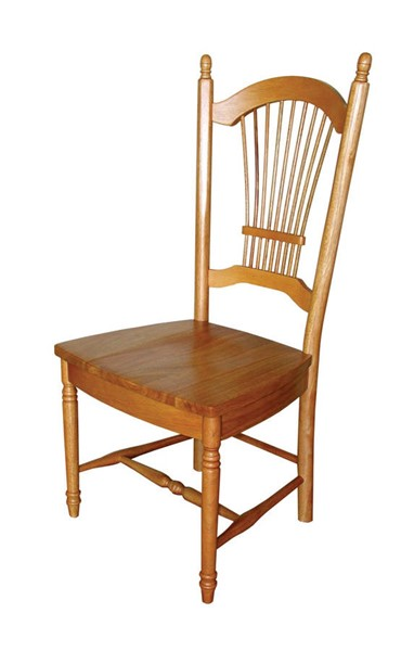 2 Sunset Trading Selections Light Oak 42 Inch Allenridge Dining Chairs SST-DLU-C07-LO-2