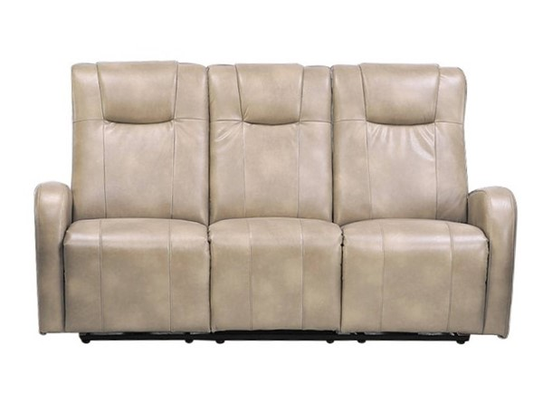 Sunset Trading Easy Living Swiss Cream Dual Reclining Sofa with USB SST-EL-9083S015P