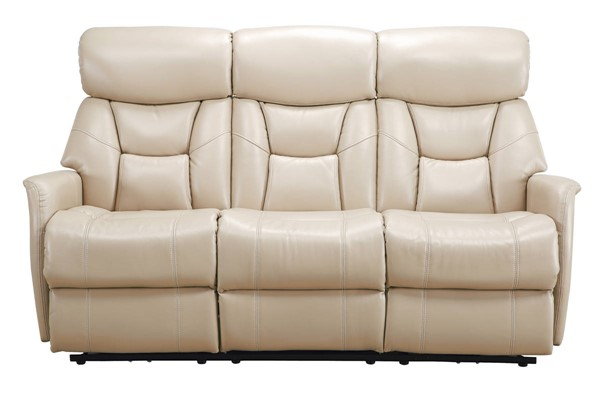 Sunset Trading Easy Living Bonn Light Cobblestone Dual Reclining Sofa with USB SST-EL-9097S821P