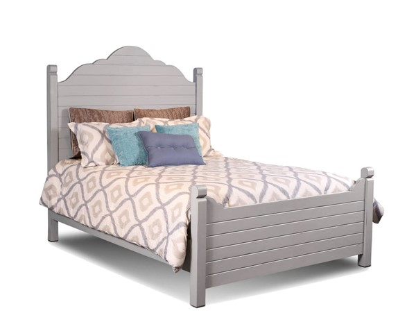 Sunset Trading Coastal Charm Gray Queen Bed SST-HH-4270-QB