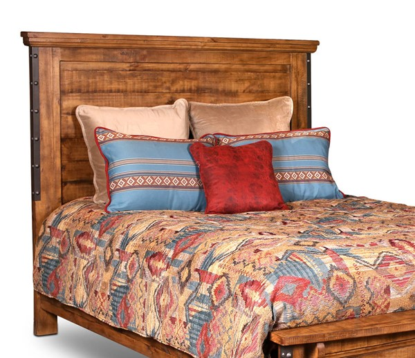 Sunset Trading Rustic City Natural Oak Queen Headboard SST-HH-4365-002