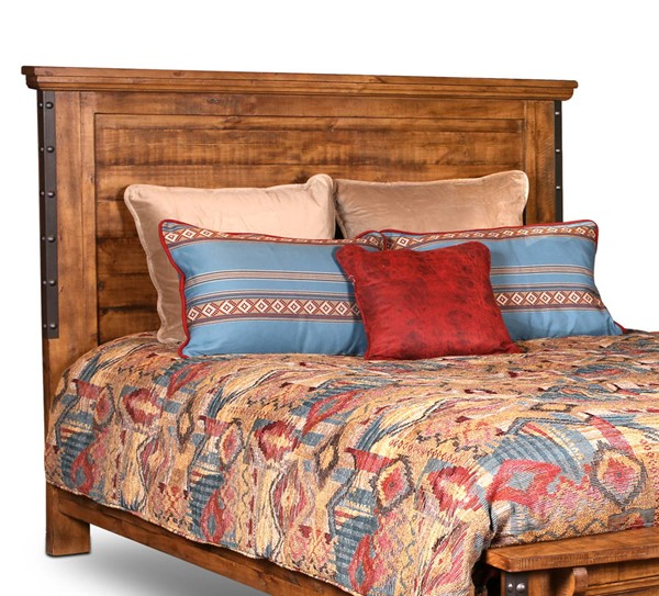 Sunset Trading Rustic City Natural Oak King Headboard SST-HH-4365-003