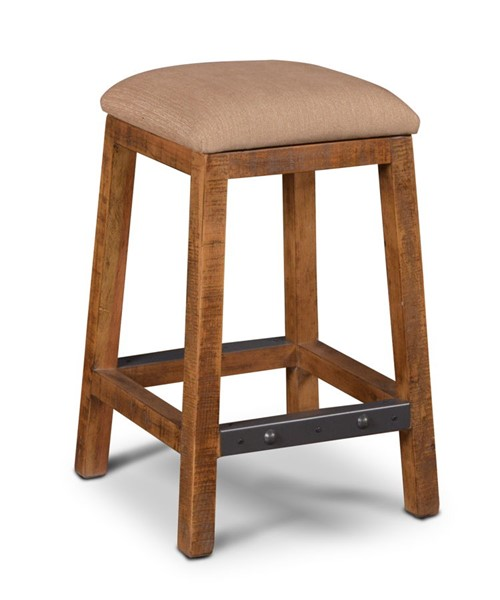 Sunset Trading Rustic City Natural Oak 24 Inch Counter Stool SST-HH-8366-024