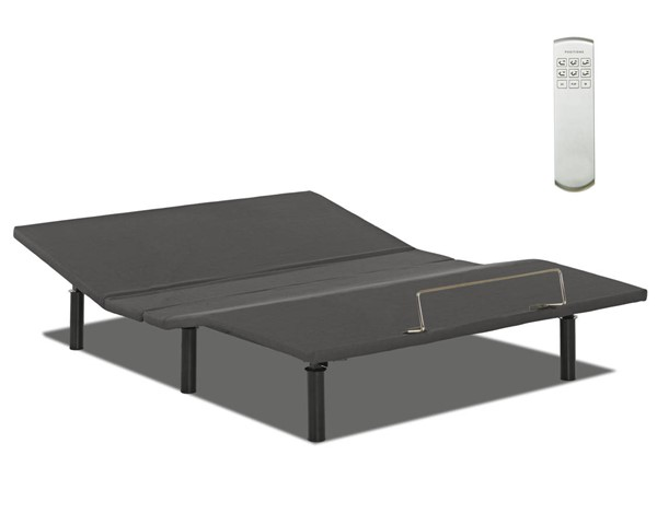 Sunset Trading Sleep Systems Gray Wireless Remote Best Full Adjustable Bed SST-SSS-WLUPS-F
