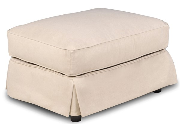 Sunset Trading Horizon Tan Rectangle Ottoman Slipcover Only SST-SU-117630SC-391084