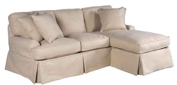 Sunset Trading Horizon Tan T Cushion Sofa Sectional Slipcover SST-SU-117678SC-391084