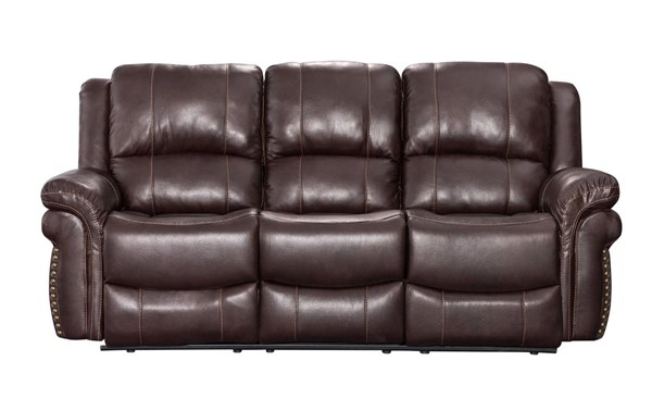 Sunset Trading Glorious Regal Brown Dual Reclining Sofa SST-SU-GL-U9521S