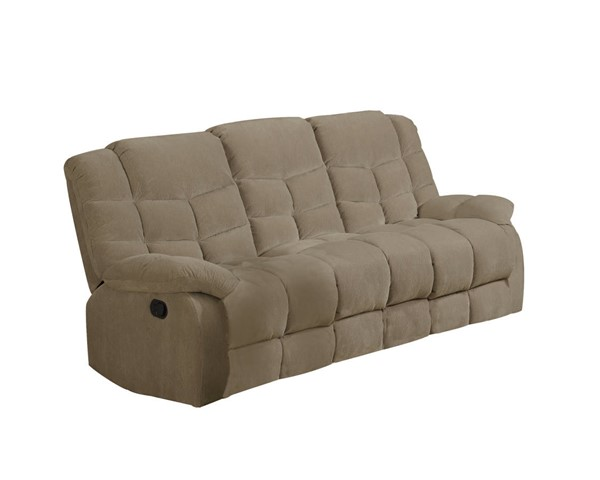 Sunset Trading Heaven on Earth Tan Reclining Sofa SST-SU-HE330-305