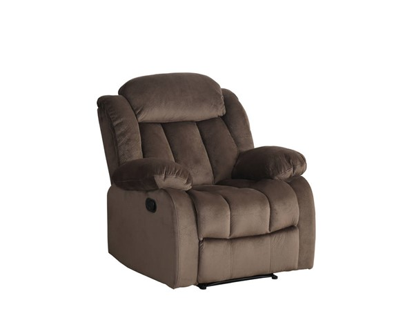 Sunset Trading Teddy Bear Cocoa Brown Rocking Reclining Chair SST-SU-LN660-108
