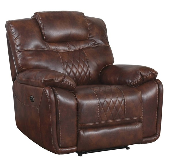Sunset Trading Diamond Brown Power Recliner SST-SU-ZY5018A001-H246