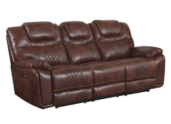 Sunset Trading Diamond Brown Power Dual Reclining Sofa SST-SU-ZY5018A003-H246
