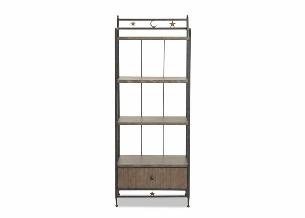 Sunset Trading Celestial Brown Black Drawer Bookcase SST-WP-5037-860