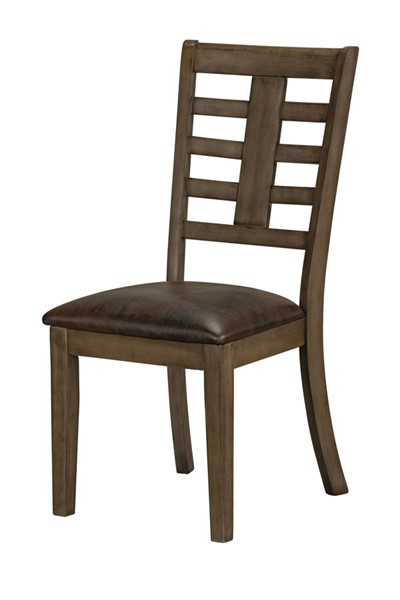 2 Standard Furniture Canaan Brown Side Chairs STD-14224