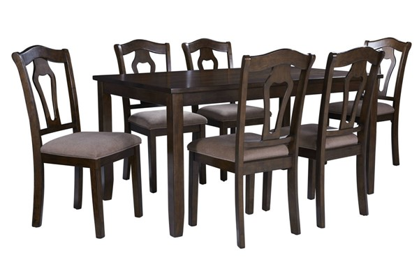 Standard Furniture Grandville Cherry Brown 7pc Dining Room Set STD-16142