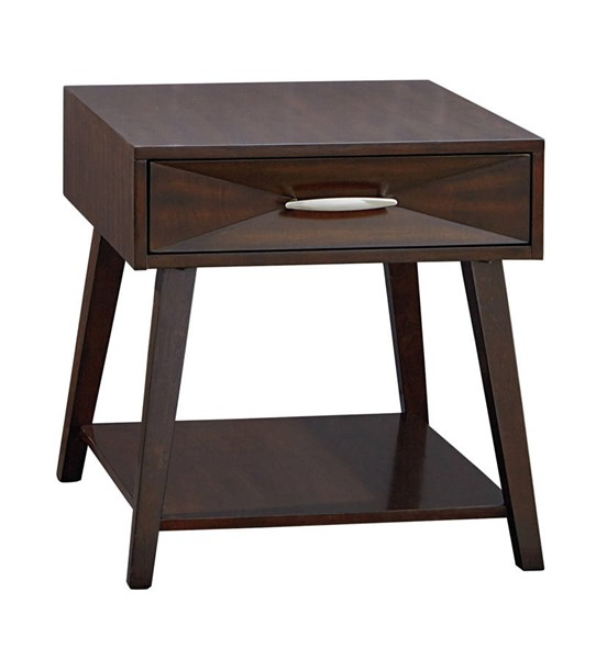Standard Furniture Forsythe Dark Merlot End Table STD-20062