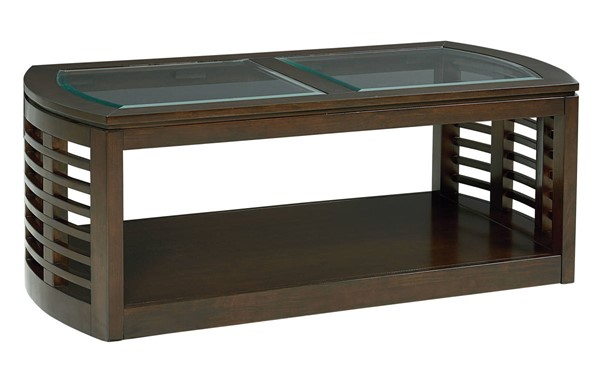 Standard Furniture Accolade Dark Chocolate Cocktail Table STD-20261
