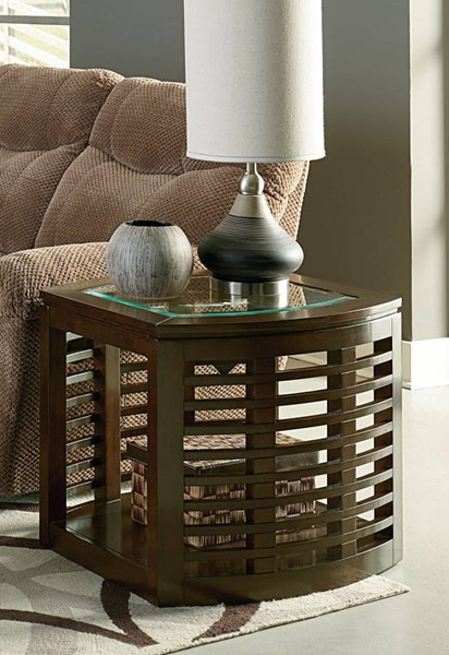 Standard Furniture Accolade Dark Chocolate End Table STD-20262