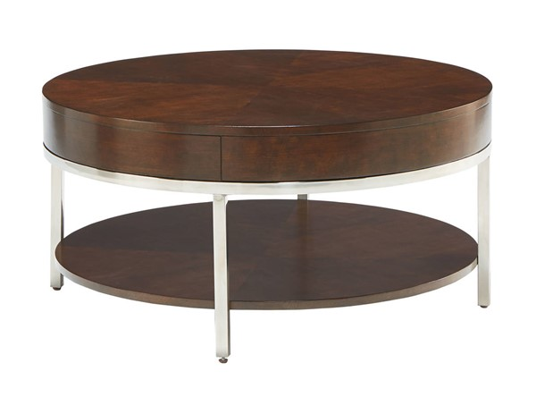 Standard Furniture Mira Tobacco Brown Cocktail Table STD-20421