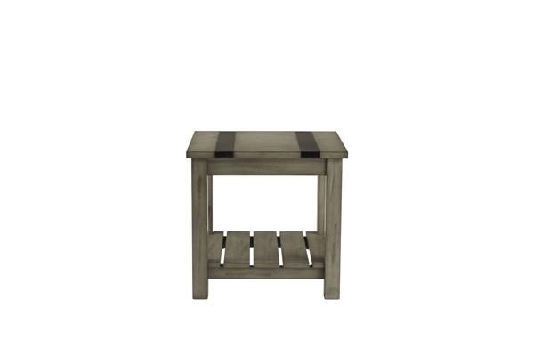 Standard Furniture Nelson Grey Rustic Pine End Tables STD-206-ET-VAR