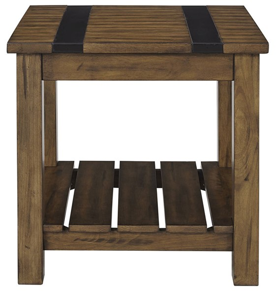 Standard Furniture Nelson Rustic Pine End Table STD-20682