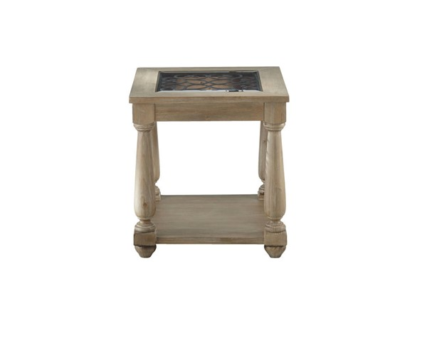 Standard Furniture Savannah Distressed Toffee End Table STD-20722