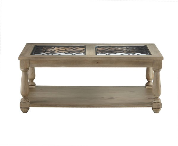 Standard Furniture Savannah Distressed Toffee Cocktail Table STD-20724