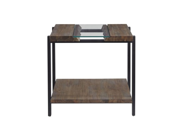 Standard Furniture Dumont Brown Mahogany End Table STD-21402